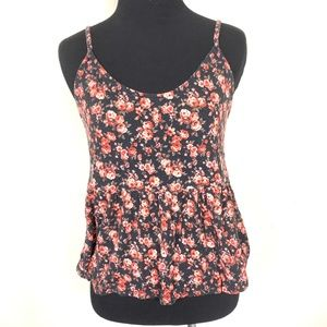 AMERICAN EAGLE FLORAL SOFT AND SEXY TANK TOP SZ S